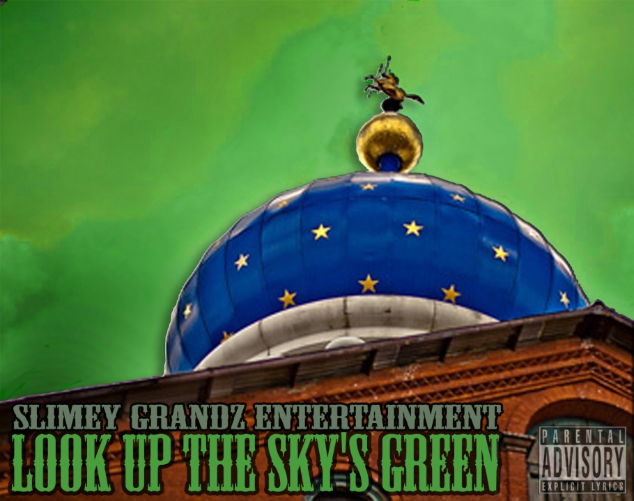 Look Up The Skys Green Cover